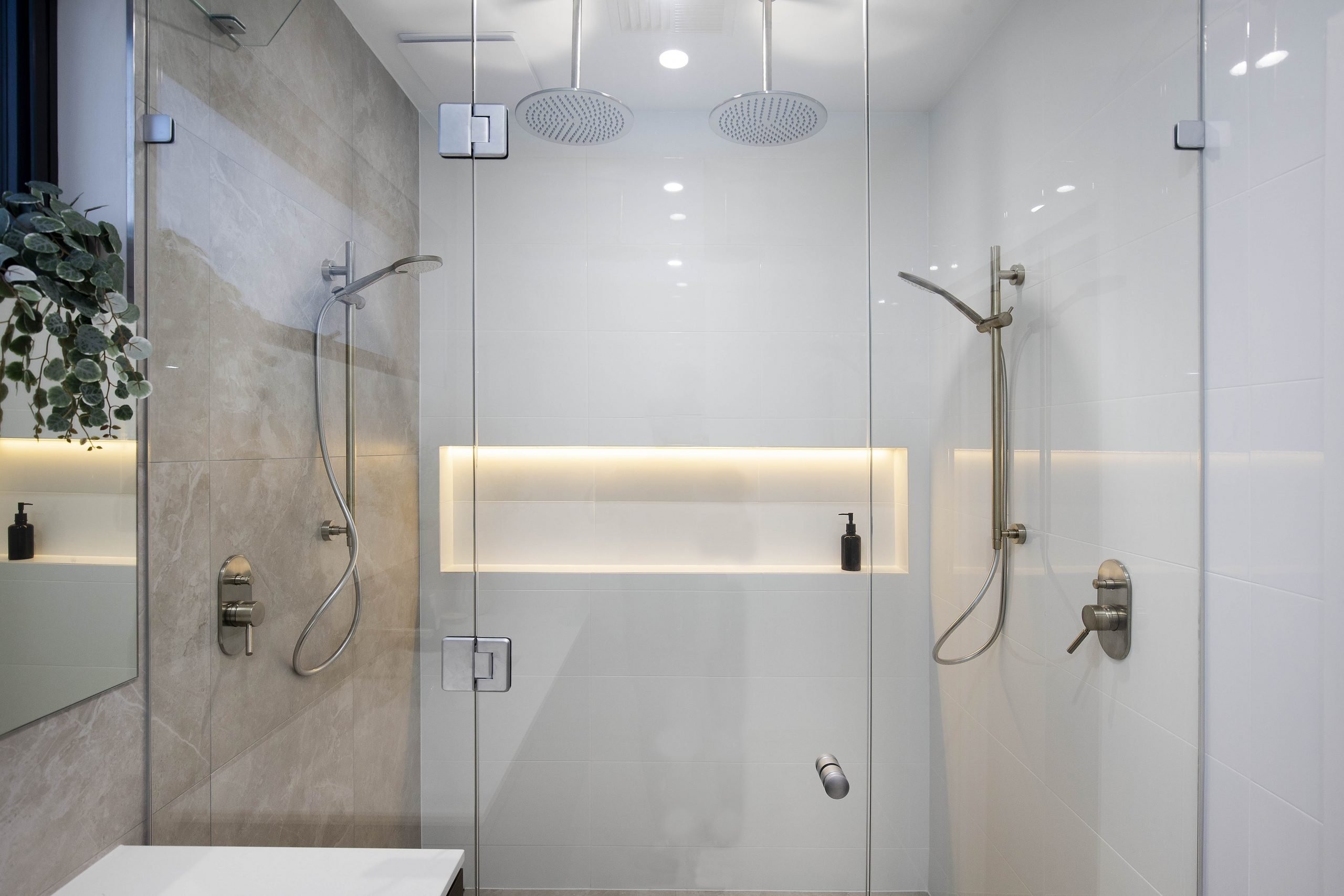 Galaway Ave Shower Heating and Cooling System