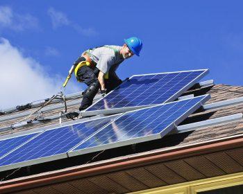 Solar Panel Residential Installation