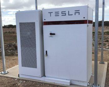 Tesla Battery Storage in South Australia